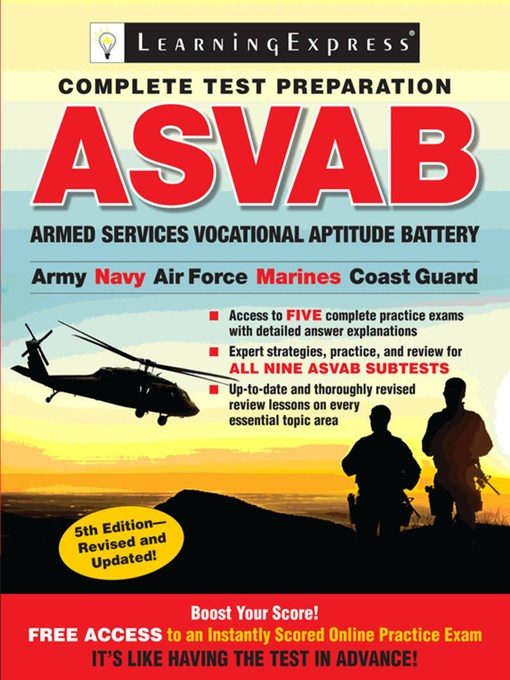 Title details for ASVAB by Learning Express - Available