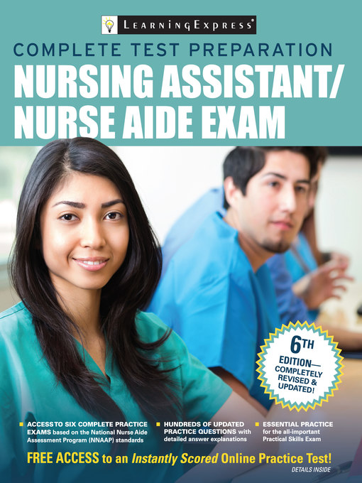 Title details for Nursing Assistant/Nurse Aide Exam by LearningExpress - Available
