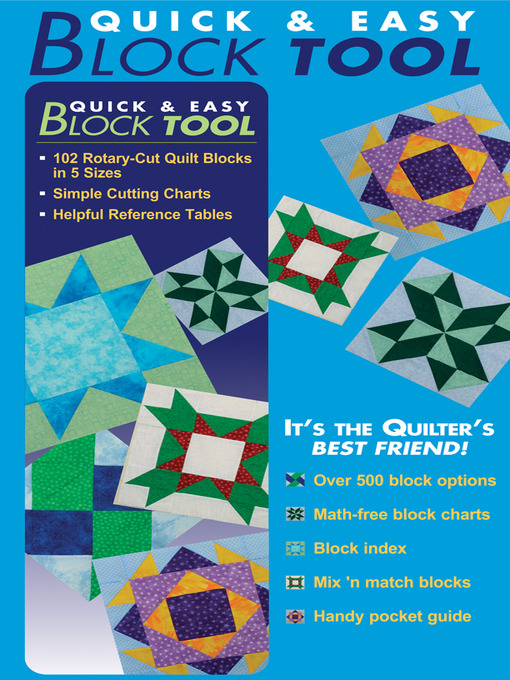 Cover image for Quick & Easy Block Tool