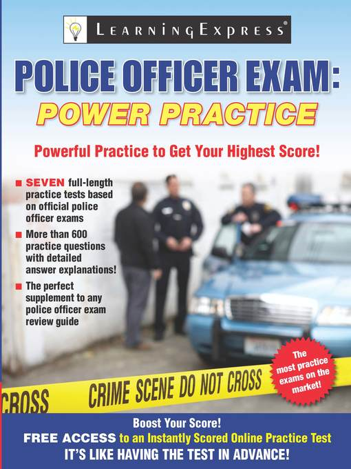 Title details for Police Officer Exam by Learning Express, LLC - Available