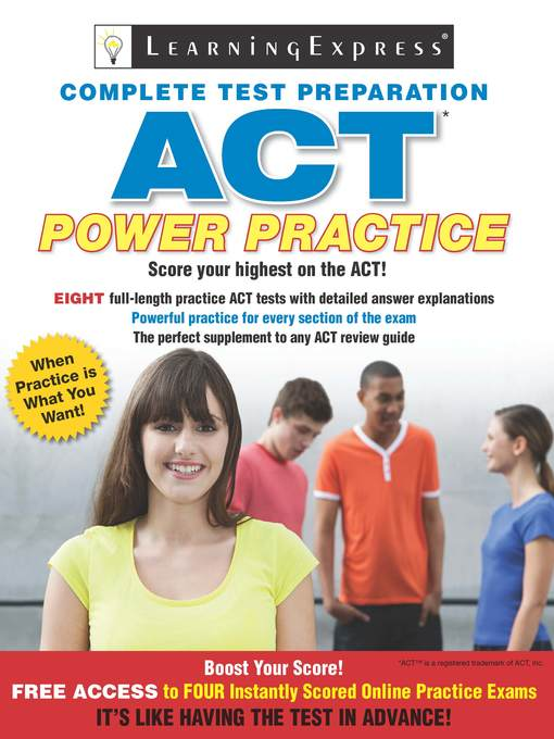 Title details for ACT by Learning Express, LLC - Available