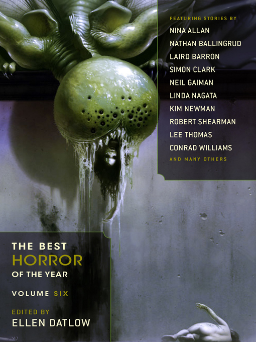Title details for The Best Horror of the Year by Ellen Datlow - Available