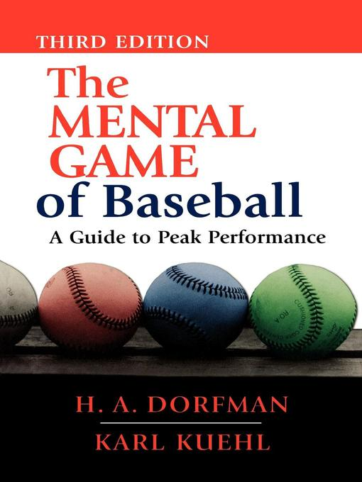 Cover of The Mental Game Of Baseball