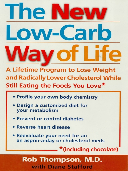 Title details for The New Low Carb Way of Life by Rob Thompson - Wait list