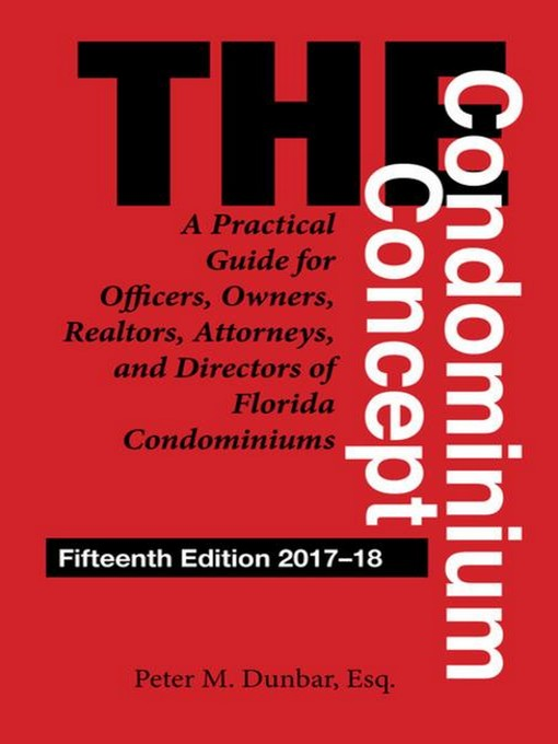 Title details for The Condominium Concept by Peter M. Dunbar - Available