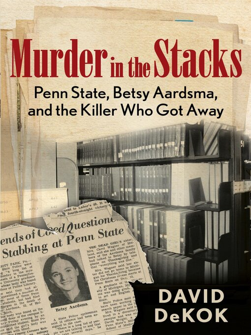 Cover image for Murder in the Stacks