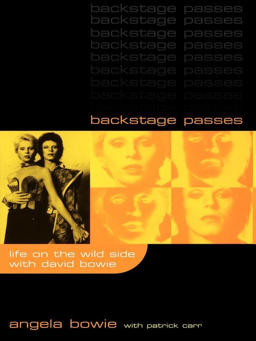 Title details for Backstage Passes by Angela Bowie - Available