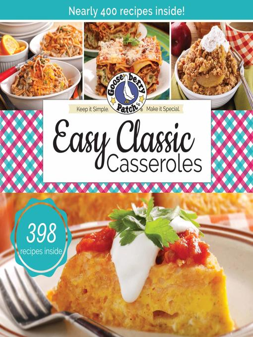 Cover image for Easy Classic Casseroles