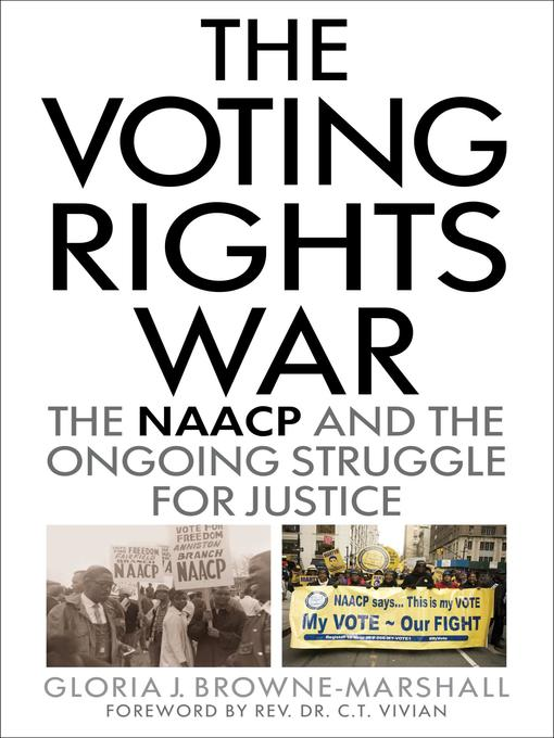 Title details for The Voting Rights War by Gloria J. Browne-Marshall - Wait list
