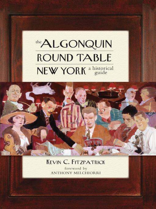 Cover of The Algonquin Round Table New York
