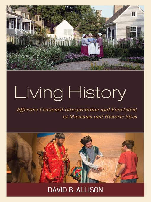 Title details for Living History by David B. Allison - Available