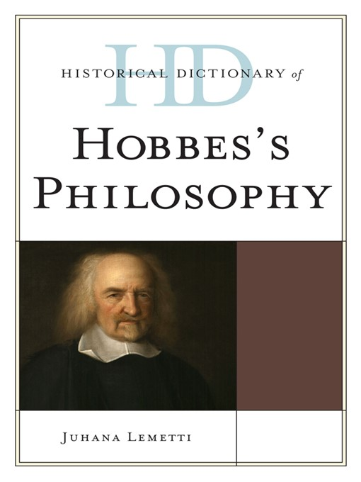 תמונה של  Historical Dictionary of Hobbes's Philosophy