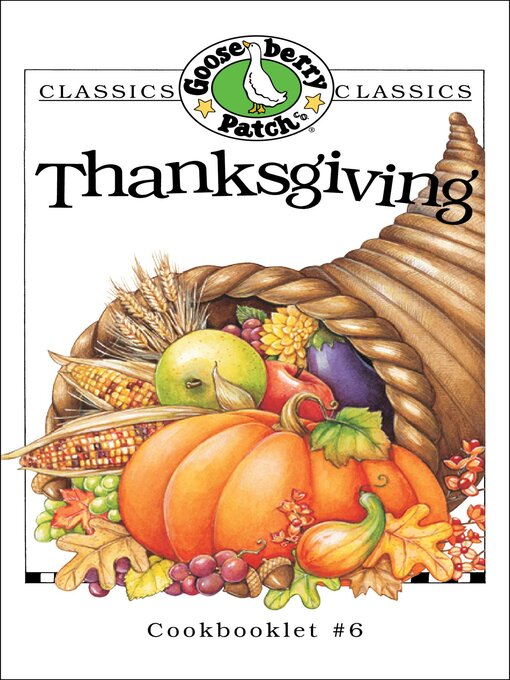 Title details for Thanksgiving Cookbook by Gooseberry Patch - Available