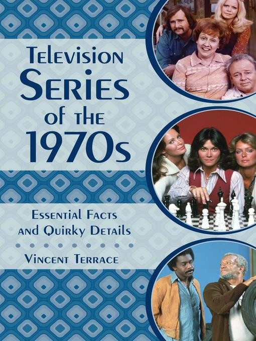 Cover of Television Series of the 1970s