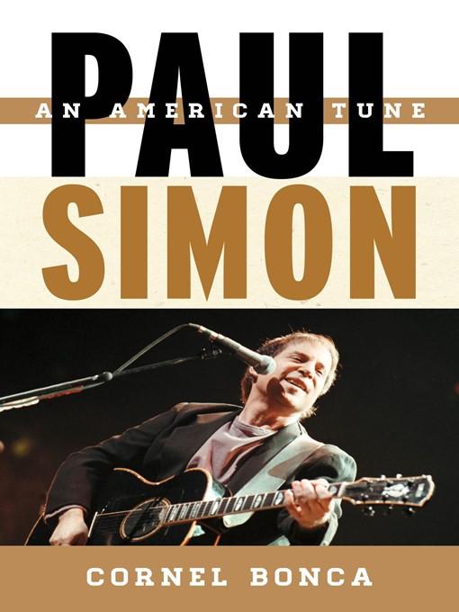 Title details for Paul Simon by Cornel Bonca - Available