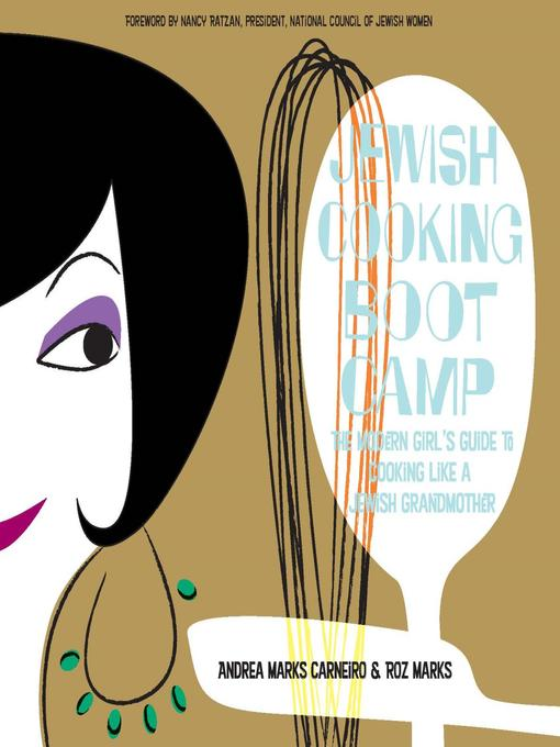 Cover of Jewish Cooking Boot Camp