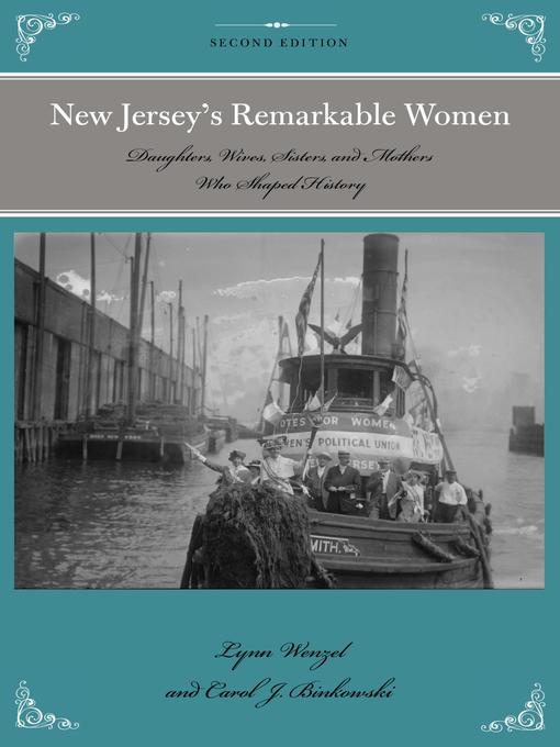 Title details for New Jersey's Remarkable Women by Lynn Wenzel - Wait list
