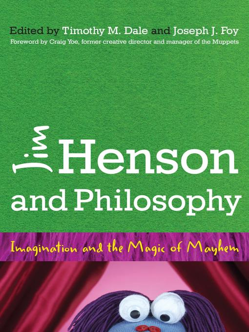 Cover image for Jim Henson and Philosophy
