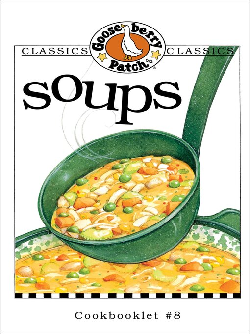 Cover image for Soups Cookbook