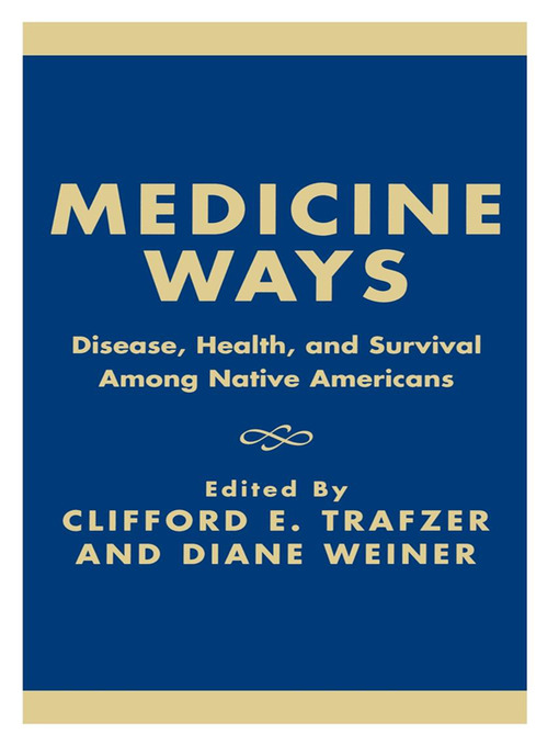 Cover of Medicine Ways