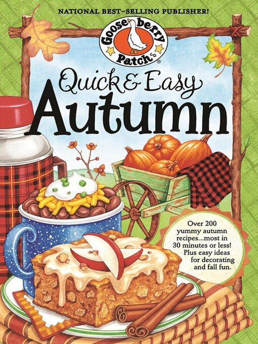 Title details for Quick & Easy Autumn Cookbook by Gooseberry Patch - Wait list