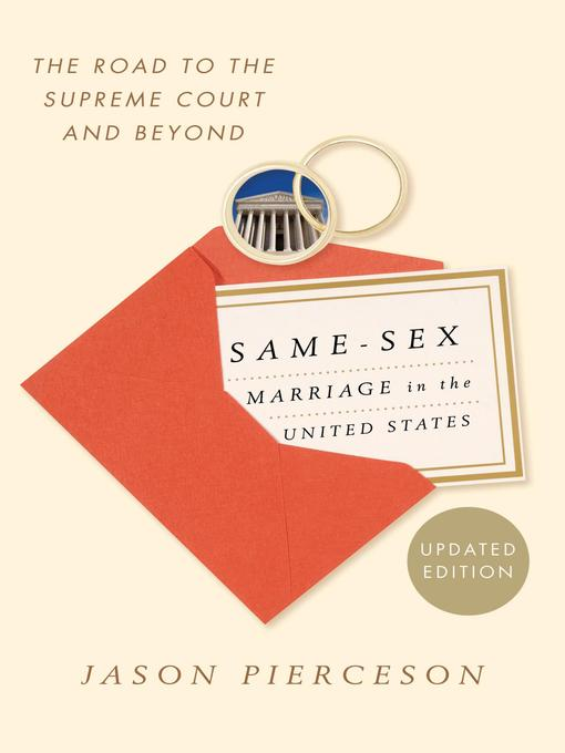 an introduction to the importance of same sex marriages Marriage laws don't ban anything they define marriage in all 50 states, two people of the same sex can choose to live together, choose to join a religious community that blesses their relationship, and choose a workplace offering them various joint benefits.