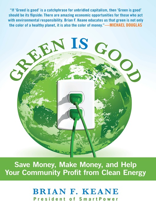Title details for Green Is Good by Brian Keane - Available