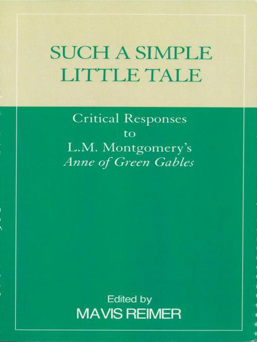 Title details for Such a Simple Little Tale by Mavis Reimer - Available