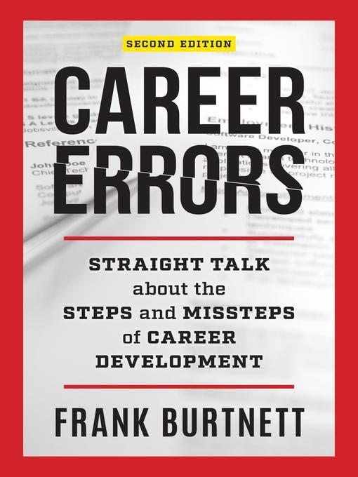 Title details for Career Errors by Frank Burtnett - Available