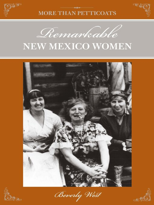 Title details for Remarkable New Mexico Women by Beverly West - Wait list