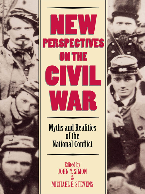 Cover of New Perspectives on the Civil War