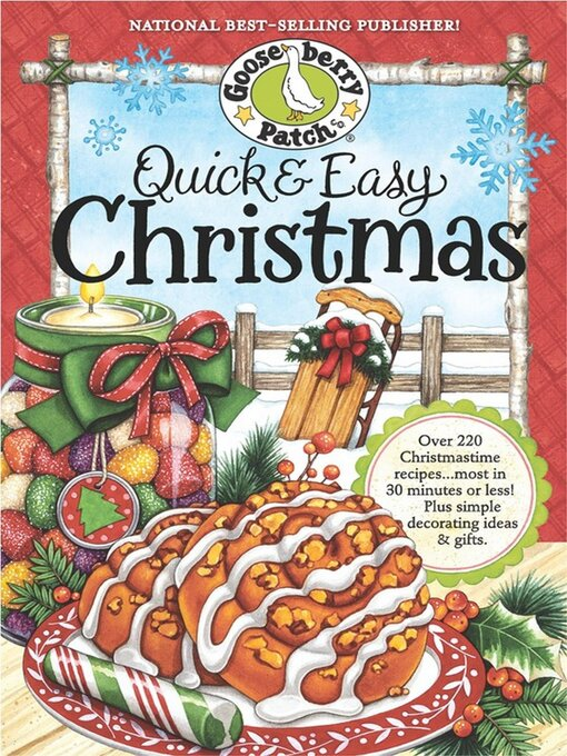 Cover of Quick & Easy Christmas Cookbook