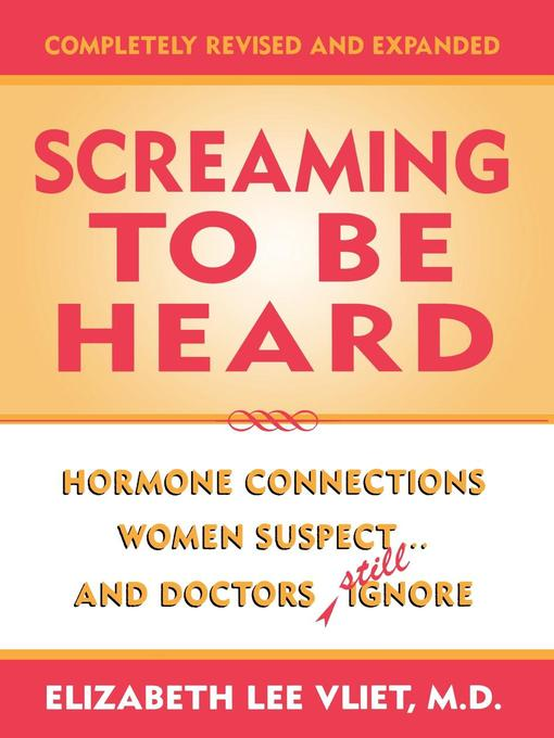 Title details for Screaming to be Heard by M. Lee D. Vliet - Available