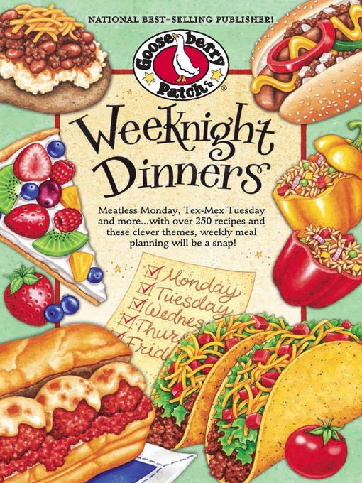 Title details for Weeknight Dinners by Gooseberry Patch - Available