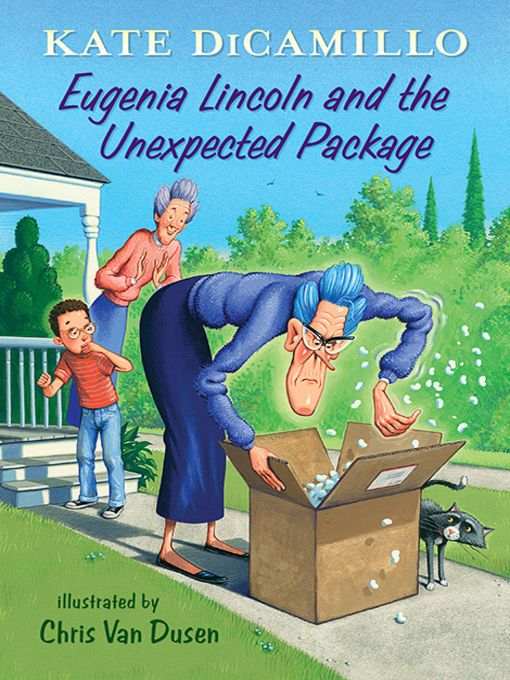 Cover of Eugenia Lincoln and the Unexpected Package