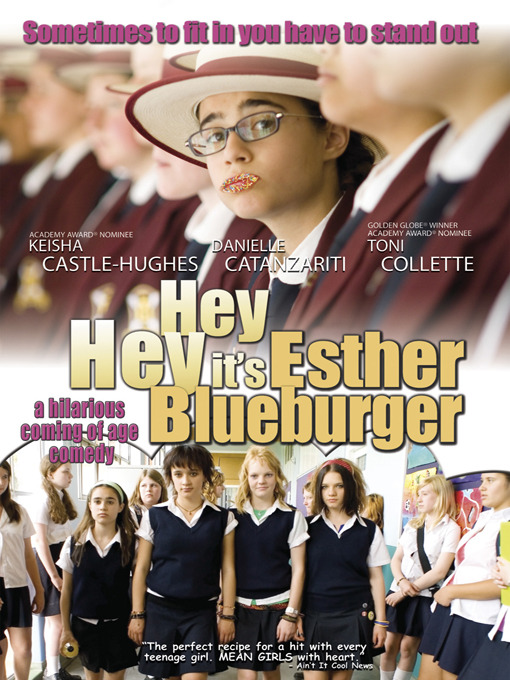 Cover of Hey Hey It's Esther Blueburger