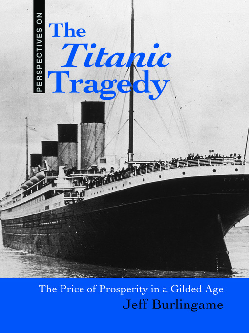 an introduction to the history of the tragedy of titanic Rms titanic was a british passenger liner that sank in the north atlantic ocean in the early morning of 15 april 1912 after colliding with an iceberg during her maiden voyage from southampton, uk.
