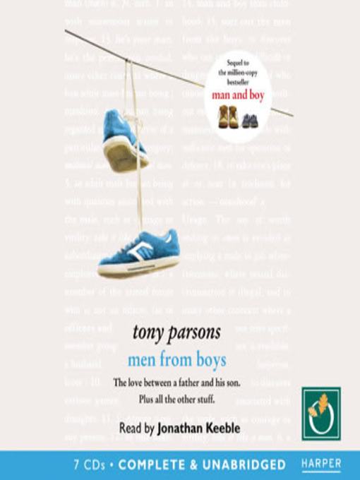 Title details for Men From The Boys by Tony Parsons - Available