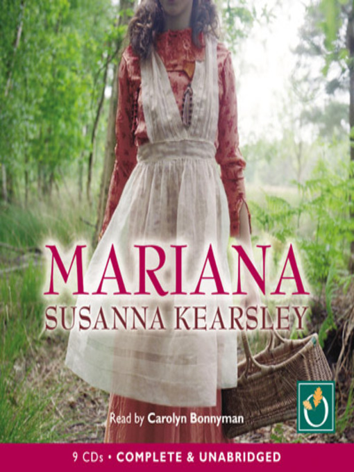 Title details for Mariana by Susanna Kearsley - Available