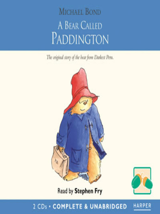 Cover of A Bear Called Paddington