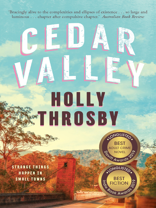 Title details for Cedar Valley by Holly Throsby - Available