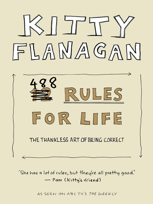 Title details for Kitty Flanagan's 488 Rules for Life by Kitty Flanagan - Wait list