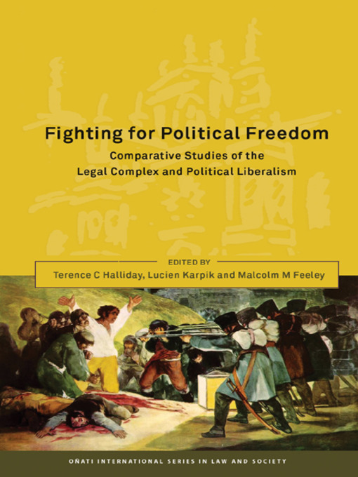Title details for Fighting for Political Freedom by Terence C. Halliday - Available