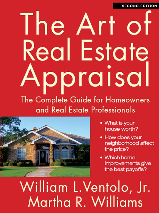Cover of The Art of Real Estate Appraisal