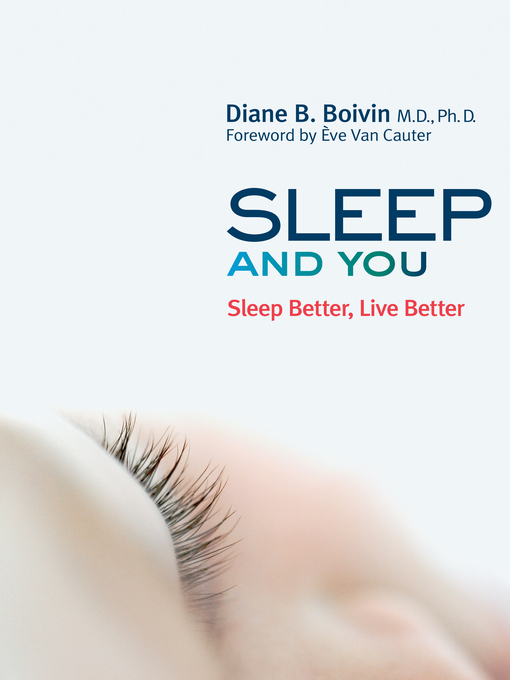 Title details for Sleep and You by Diane B. Boivin - Wait list
