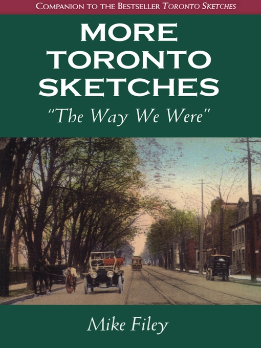 Cover of More Toronto Sketches