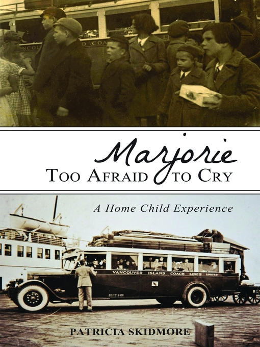 Cover of Marjorie Too Afraid to Cry