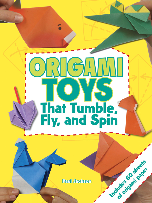 Title details for Origami Toys by Paul Jackson - Available