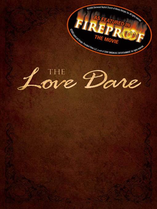Title details for The Love Dare by Alex Kendrick - Available