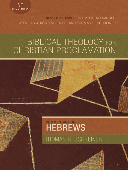 Cover image for book: Commentary on Hebrews